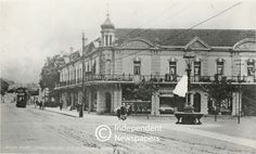 Rondebosch Main Road, Cape Town Old Photos, Vintage Photos, Historical Pictures, Cape Town, South Africa, Maine, Cities, Buildings, Scenery