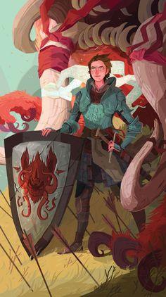Adah The Shield on Behance
