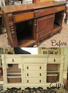 such a gorgeous piece to refinishrefurbish love the intricate woodwork with the matte astonishing pinterest refurbished furniture photo