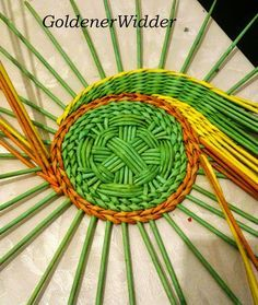 alap Плетение из газетных трубочек