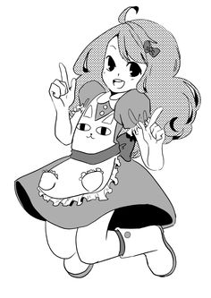 hitsuhere:  a fanart that i made, kinda manga style of the osm animation of Bee and Puppycat on Cartoon Hangover by Natasha Allgeri ——————————————————— dibujo fanart que hice estilo manga de la chida animacion Bee and Puppycat en cartoon hangover por Natasha Allegeri