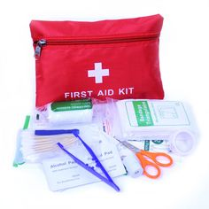 14pcs/Set Emergency Kits First Aid Kit Survival Camping Travel Medical Emergency Treatment Pack Set EM88 #watches, #belts, #fashion, #style, #sport