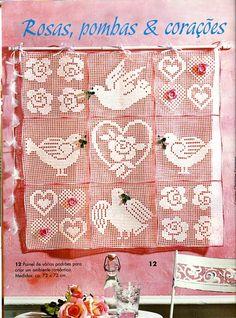 Gallery.ru / Фото #3 - Filet Crochet pour Point de Croix 2 - Mongia