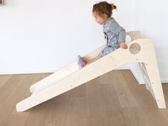 Wooden Slide Maxx - Wood