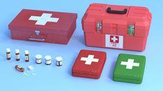 ArtStation - First Aid Kit, Danilo Teixeira Diniz