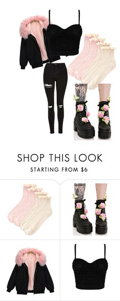 """Pastel Goth... Ish.."" by autumn-to-ash on Polyvore featuring Accessorize and Sugarbaby"