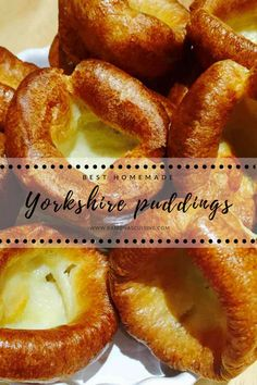 Learn to easily prepare these homemade Yorkshire puddings (puds), a delightful and savory side dish to your liking. Instant Pudding, Yorkshire Pudding Recipes, Homemade Yorkshire Puddings, How To Make Yorkshire Pudding, Beef Recipes, Cooking Recipes, Easy Recipes, English Food, English Recipes