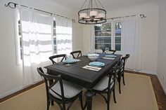 Gorgeous 3 bedroom home in Montecito to rent for your vacation! Short walk to and Santa Barbara, Dining Table, Homes, Vacation, Bedroom, Furniture, Home Decor, Houses, Vacations