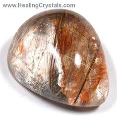 "Lenses - Rutilated Quartz Crystal Lenses ""Extra""- Rutilated Quartz - Healing Crystals"