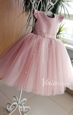 Buy Lovely Pretty Pink Round Neck Tulle Flower Girl Dresses, Cheap Wedding Little Girl in uk. Find the perfect flower girl dresses at PromDress. Our flower girl dresses come in a variety of styles & colors including lace, tulle, purple & gold Toddler Flower Girl Dresses, Tulle Flower Girl, Dresses Kids Girl, Baby Dress, Pink Tulle, Baby Flower, Baby Girl Party Dresses, Tulle Flowers, 1st Birthday Girl Dress