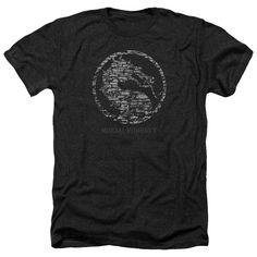 Mortal Kombat X/Stone Seal Adult Heather T-Shirt