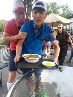 Running Man 2013 ♡ Yoo Jae Suk with Seungri