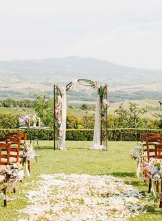 15 Aisle Styles for a Breathtaking Wedding Ceremony - Inspired By This