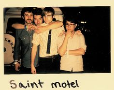 milk&honey: Interview with AJ Jackson of Saint Motel Music Is Life, New Music, Saint Motel, Nirvana Songs, Women Of Rock, Best Track, Artist Album, Movie Poster Art, Music Icon