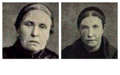 "Catherine Flannagan and Margaret Higgins...A.K.A.: ""Black Widows of Liverpool"""