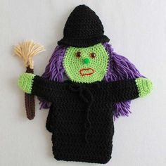 Crochet Puppets: Wizard of Oz Set 1 Pattern