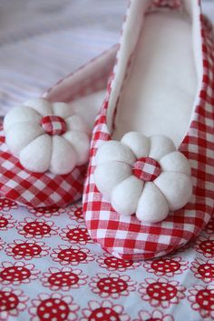 Adorable Gingham Shoes