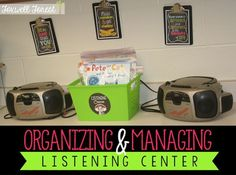 TIps on Organizing and Managing Listening Center