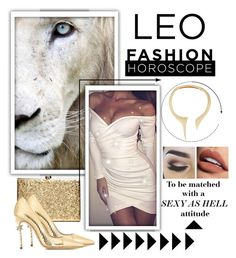 """Lioness"" by amazingmeraff ❤ liked on Polyvore featuring Dsquared2, Giuseppe Zanotti, Sephora Collection, fashionhoroscope and stylehoroscope"
