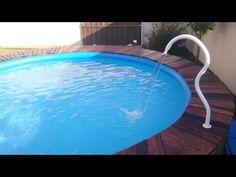 Piscina Intex, Intex Pool, Pallet, Ideas Para, Pools, Outdoor Decor, Youtube, Petite Piscine, Gardens