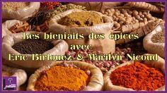 Les bienfaits des épices avec Eric Birlouez & Marilyn Nicoud
