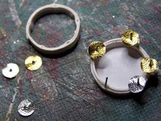 Pequeñeces: How to make a tambourine, this site has lots of tips and how tos follow the links