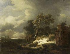 Landschap met ruïnes, Jacob Isaacksz. van Ruisdael, 1650 - 1682