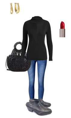 """""""Untitled #2157"""" by yvettestarr on Polyvore featuring WithChic, Patricia Nash, Silver Treasures and Urban Decay"""
