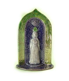 Goddess of the Divine Feminine Handmade by DeBaunFineCeramics, $69.25