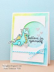 Fifi_T has added a photo to the pool:  Critters ever after and believe in yourself with a few lawn fawn dies