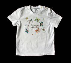 "Camiseta ""Mariposas""."