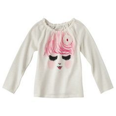 Cherokee® Infant Toddler Girls' Long-sleeve Tee -
