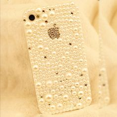 Luxury iPhone case iPhone 4s case iPhone 4...you may as well look good doing...whatever you're doing:)