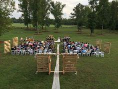 Heather + Ryan Alturia Farm ceremony