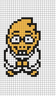 14 Best 8 Bit Characters Images Punto De Cruz Beading Patterns 8 Bit