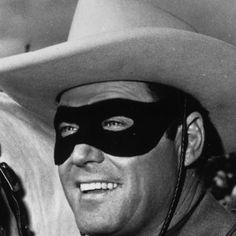 Clayton Moore as that masked man
