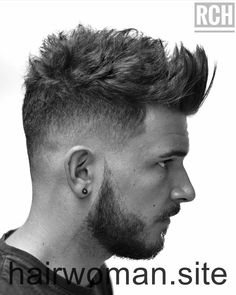 Mens Hairstyles Quiff – We have the latest on how to get the haircut, hair color, and hairstyles you want for the season! Trendiest Mens Hairstyles Quiff For 2019 Trends New Men's Hairstyles (Top Picks) Mens Hairstyles Quiff, Quiff Haircut, Haircut Styles, Trendy Hairstyles, Hairstyles 2018, Stylish Haircuts, Quiff Men, Mens Fade Haircut, Trending Hairstyles For Men