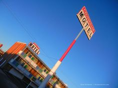 """Crossroads Motel, Albuquerque, New Mexico Central Ave NE and I-25. Hank takes Walter, Jr. here to scare him straight in """" . . . And the Bag's In The River"""", Season 1. Jesse gets arrested here in """"Bit By A Dead Bee"""", Season 2. """"Half Measures"""","""