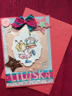 Birthday card for girl