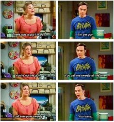 Penny and Sheldon<3
