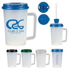 #5422 - 22 Oz. Medical Tumbler With Handle