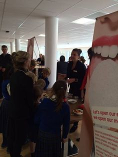 Le Régent pupils get some vital information about sugar and what damage it can do to you.