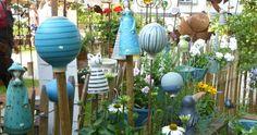 Gartenkugel,Zwiebeln - Keramikwerkstatt Baumgartner