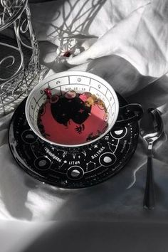 Cosmic Tea Cup & Saucer, You are able to appreciate breakfast or different time periods applying tea cups. Tea cups also have decorative features. Once you go through the tea cup models, you will dsicover this clearly. Coffee Cups, Tea Cups, Cup Of Tea, Black Dishwasher, Witch Aesthetic, Farrow Ball, Ceramic Cups, Tea Cup Saucer, Magick