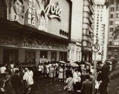 Grandioso festival de cinema japonês no Cine Joia em Sao Paulo/SP nos anos 1950s