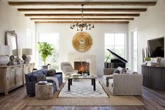 Two Styles, One Room: Rustic and Refined - La Dolce Vita