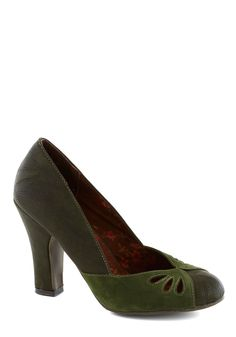 Ahead of Thyme Heel | Mod Retro Vintage Heels | ModCloth.com
