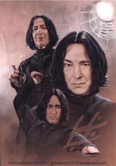 Severus Snape by goldenrod1034.deviantart.com on @deviantART