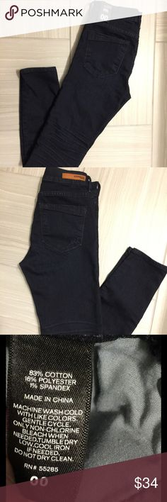 ❤NWT EXPRESS SIZE 00 MIA MID RISE ANKLE LEGGING❤ This is a pair of NWT Express Mia Mid Rise Ankle Legging, dark wash, size 00.   <<Bundle and Save>> Express Jeans Ankle & Cropped