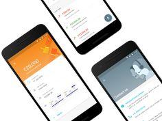 Capital Float App Material Design